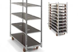 Keep track of your Trolleys and Shelves with Passfield